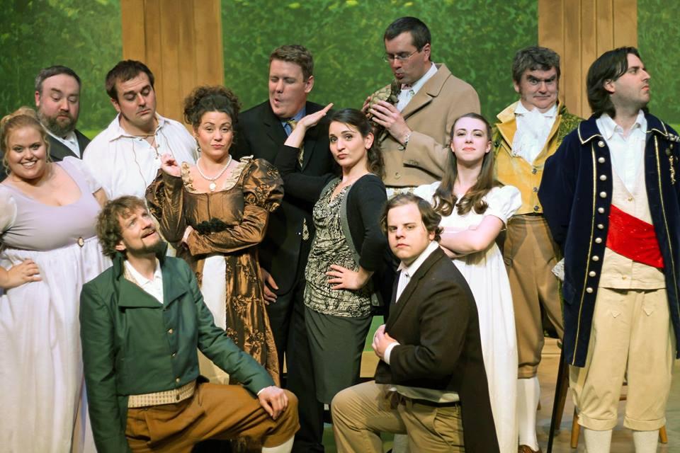 Olathe civic theatre association arcadia publicity photos for Arcadis group