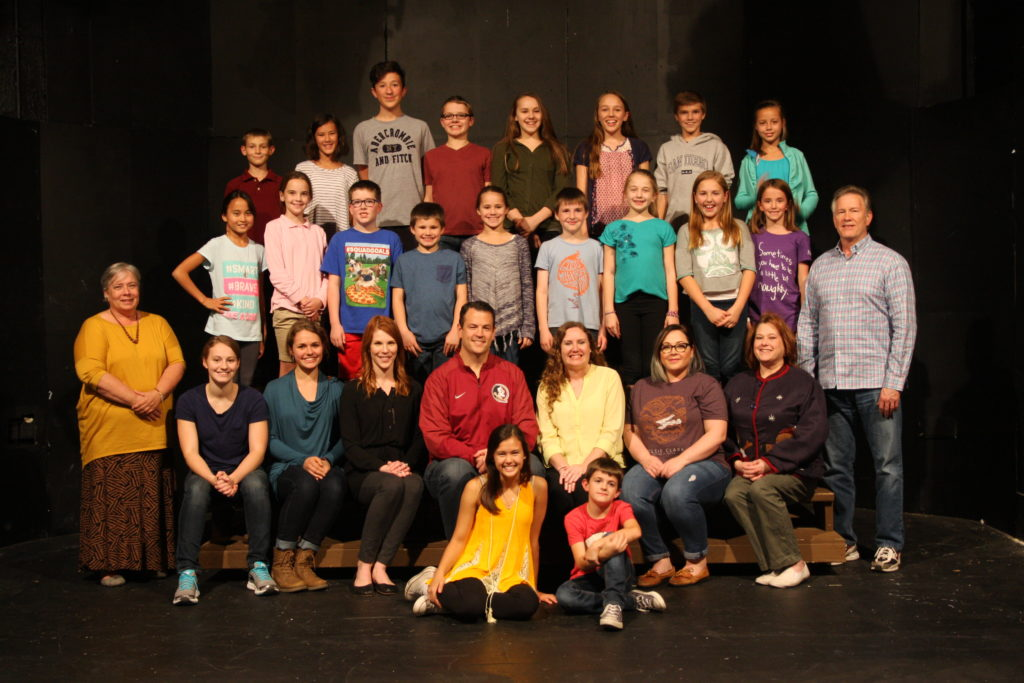 "The Cast of ""The Best Christmas Pageant Ever!"""