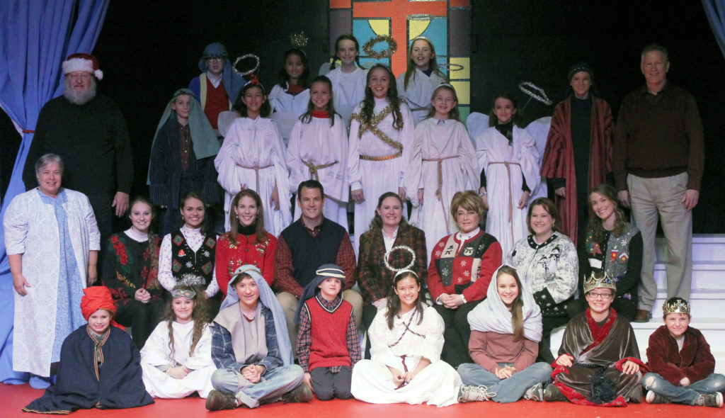 The cast of The Best Christmas Pageant Ever!