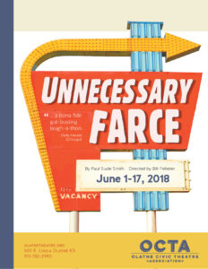 Unnecessary Farce - Poster