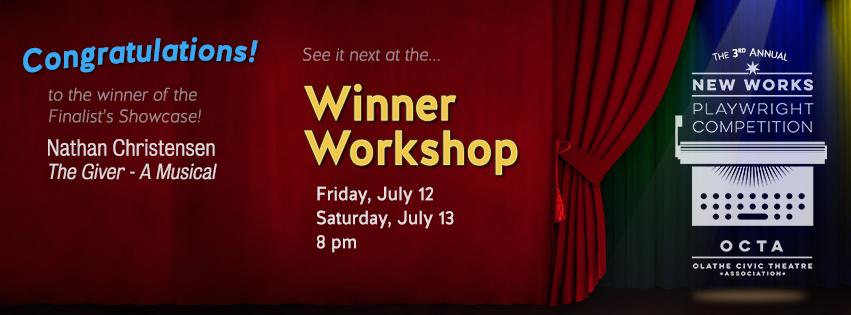 Olathe Civic Theatre Association   New Works Playwright