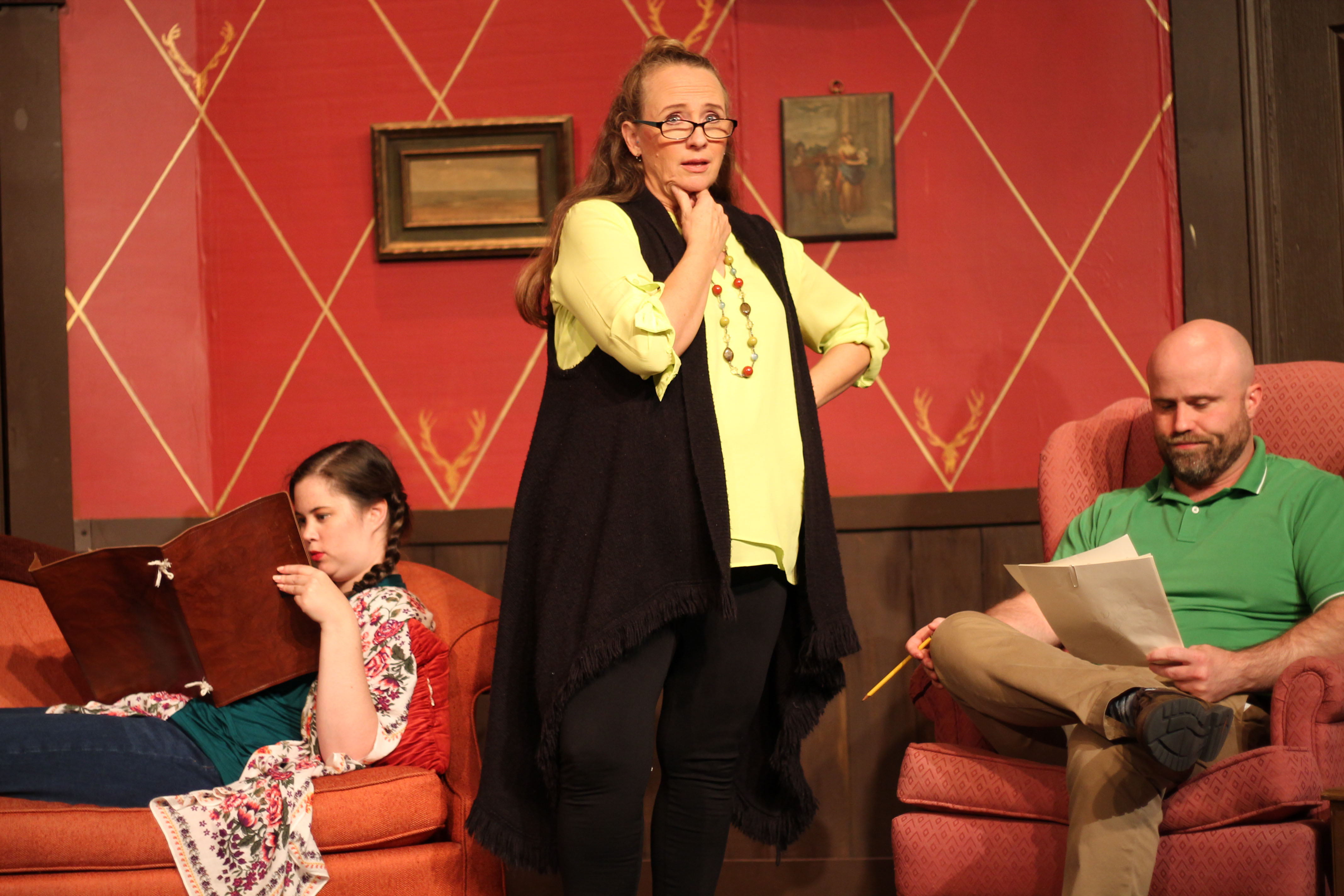 Olathe Civic Theatre Association Octa Debuts The Haunting Of Hill House Show Photos And Info